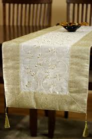 table runner embroidered beaded table runner banarsi designs