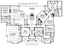 luxury ranch floor plans could work even without a second floor luxury ranch estate house