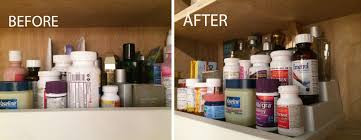 Organize Medicine Cabinet Spring Cleaning