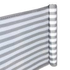 sichtschutz balkon grau balkon terrassen sichtschutz 90cm x 5m grau weiß wetterfest uv