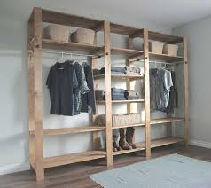 walk in closet ideas do it yourself with double hanging and shoe