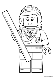 lego harry potter coloring pages lego harry potter with wand