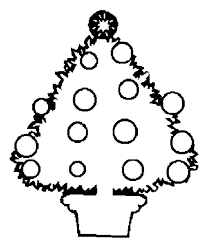 christmas tree coloring pages for kids free printable christmas