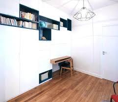 bureau bibliothèque intégré bibliothaque avec bureau integre bibliotheque de bureau meuble