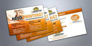 business cards postcards and flyers for marketing