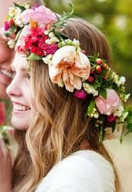 bridal flowers for hair bohemian bridal ideas flower crowns crown and boho