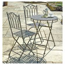 Tesco Bistro Chairs Buy Versailles Bistro Set Antique Bronze From Our Metal Garden