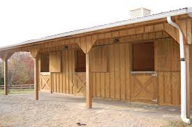 lovely plans to build a horse shed garden design