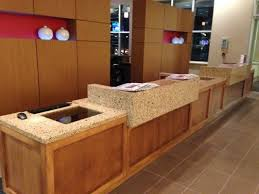 High End Reception Desks This High End Hotel Reception Desk Built For The Hyatt Place In