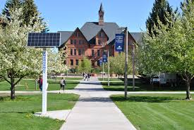 Montana State University Campus Map by Blue Light Emergency Phones University Police Montana State
