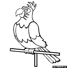 bird coloring pages 1