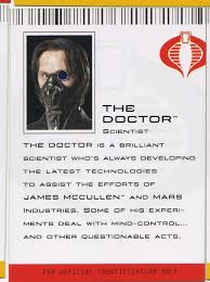 the doctor g i joe rise of cobra halloween mask hisstank com