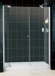 60 Shower Doors Dreamline 60 To 67 Inch Frameless Pivot Shower Door