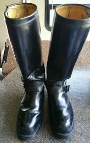 mens black motorcycle riding boots chippewa 19