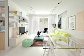 3 Room Flat Interior Design Ideas 4 Small U0026 Beautiful Apartments Under 50 Square Meters