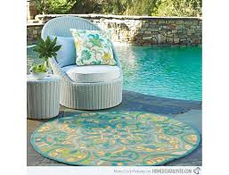outdoor throw rugs for summer home u0026 garden design ideas articles