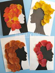 fall leaf craft for kids jesienne stylizacje praca plastyczna