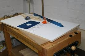 diy router table top new router table building the fence router table