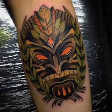 tattoos for guys on arm tiki tattoos for men ideas and designs for guys