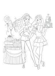 free barbie mermaid coloring pages print download printable