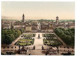 historic pre war photos of german cities karlsruhe