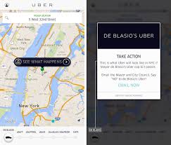 New York Street Map App by Uber Pushing Back On New York City U0027s Plans To Put Limits On For
