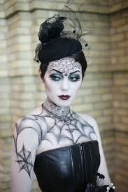Gothic Halloween Makeup Ideas by Portrait Of Woman With Gothic Makeup Smokey Eyes Stock Photo