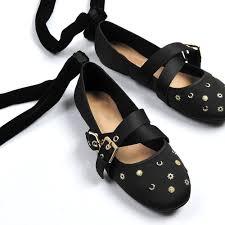 Brauntone Wohnung Elegantes Beispiel Indien Online Kaufen Großhandel Spitze Ballerina Schuhe Aus China Spitze