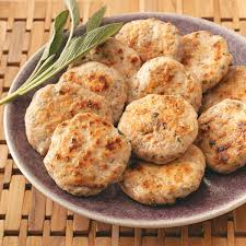 sage turkey sausage patties recipe taste of home