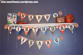 diy pennant banner template for your next party sweetbeanz