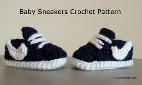 newborn pattern video homemade nike baby sneakers free patterns and tutorial