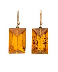 ted muehling earrings ted muehling handcut gem earrings earrings jewelry