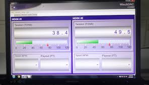 release hook load monitoring system for modec fso cidade de macae