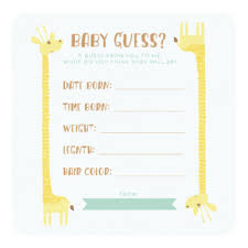 guessing invitations announcements zazzle