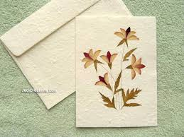 how to make greeting cards with pressed flowers wholesale greeting