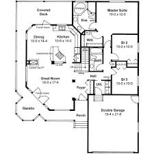 shining ranch house floor plans with wrap around porch 4 porches