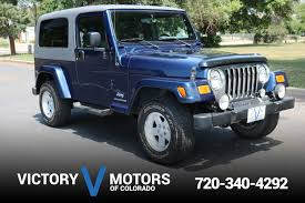 2005 jeep wrangler unlimited victory motors of colorado