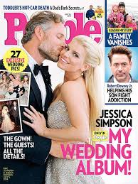 get the look jessica simpson u0027s wedding gown bridalguide