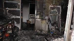 feu de cuisine après le feu de cuisine les deux occupants relogés