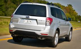 subaru forester 2009 subaru forester 2 5x road test u2013 review u2013 car and driver