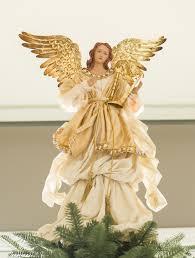 gold angel tree topper balsam hill australia angels