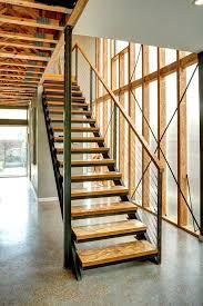 modern indoor stair treads contemporary wood stair treads modern