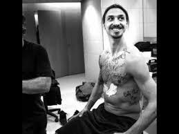 zlatan ibrahimovic reveals his tattoos weren u0027t real 20 02 2015