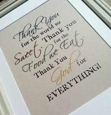 poem about thanksgiving to god thank you god for everything world so sweet food we eat