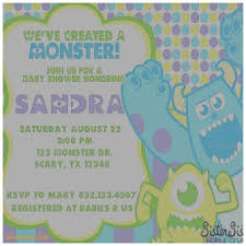 inc baby shower baby shower invitation fresh monsters inc baby shower invitations