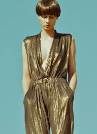 gold jumpsuit gold jumpsuits vsw fashion