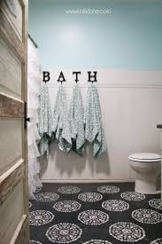 How To Paint Ceramic Tile In Bathroom Your Tile Floors Paint Them Lolly Jane