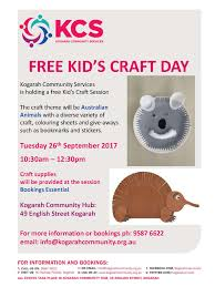 2017 kids craft day september kcs