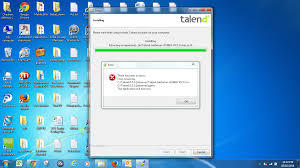 error need help installing talend enterprise data integration