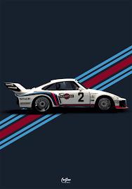 porsche racing poster porsche 935 martini livery 1 poster vertical car bone pl